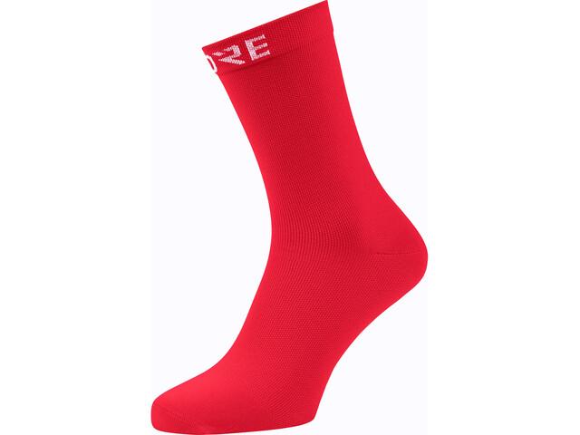 GORE WEAR Cancellara Mid Socks, red